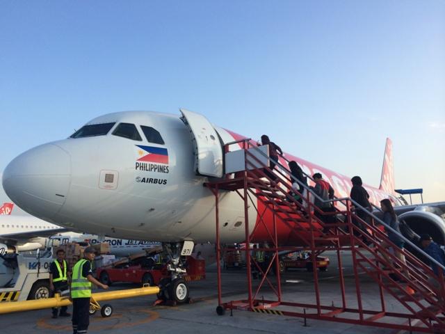 AirAsiaでマニラからボホール島へ向かいます