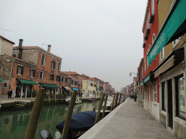 ムラーノ島の街