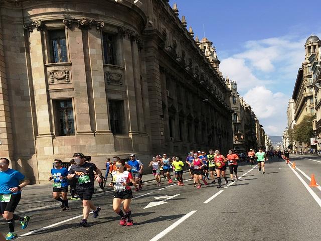 Barcelona Marathon event