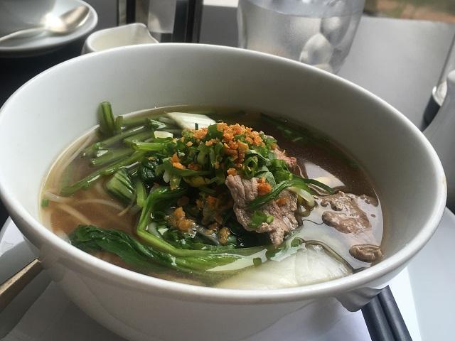Park Hyatt Siem Reap breakfast Pho