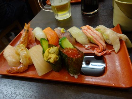 のどぐろ入りお寿司