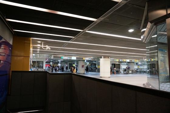 台北の地下鉄駅