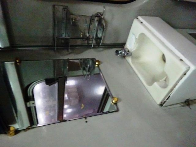 一応独立洗面台はついている