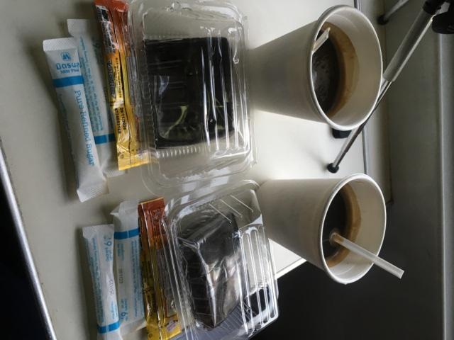 高くついた朝コーヒー
