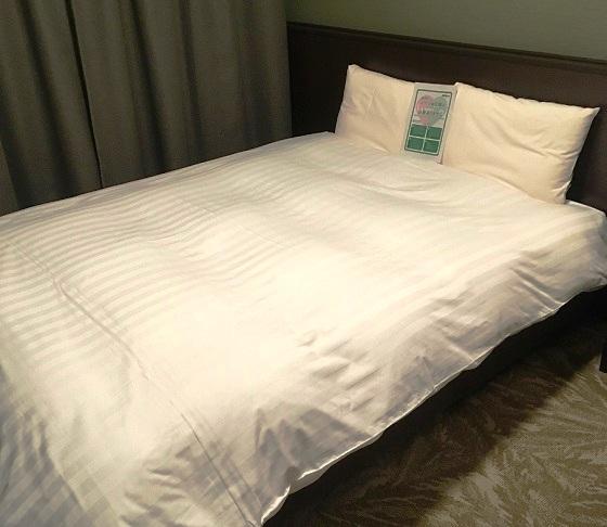 ベッドの寝心地も最高