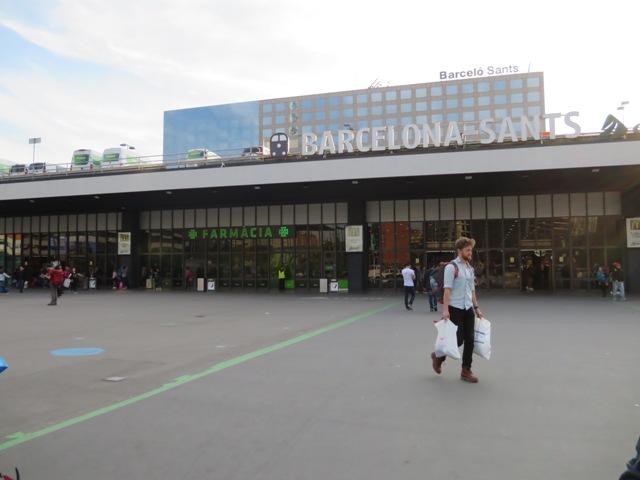 Barcelona Sants駅