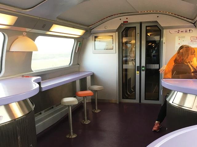 SNCFの食堂車