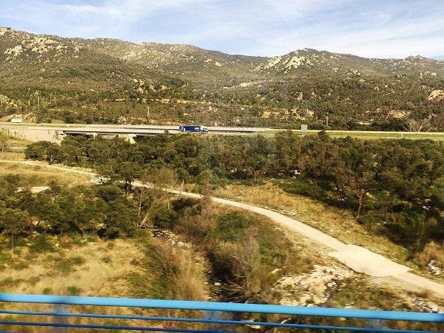 バルセロナ近郊の様子
