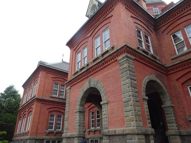 レンガ造りの旧庁舎