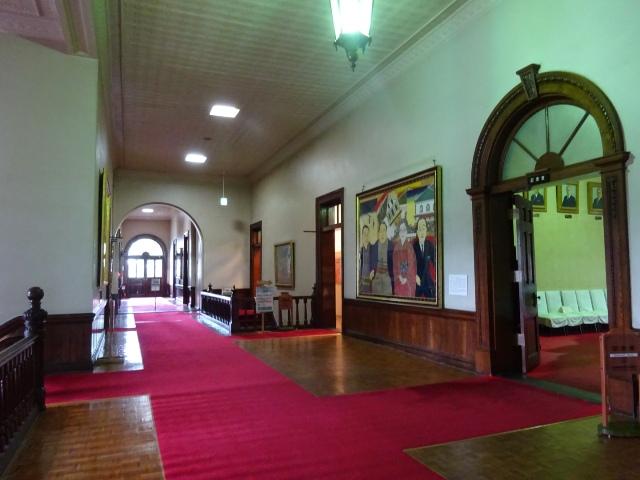 二階の渡り廊下