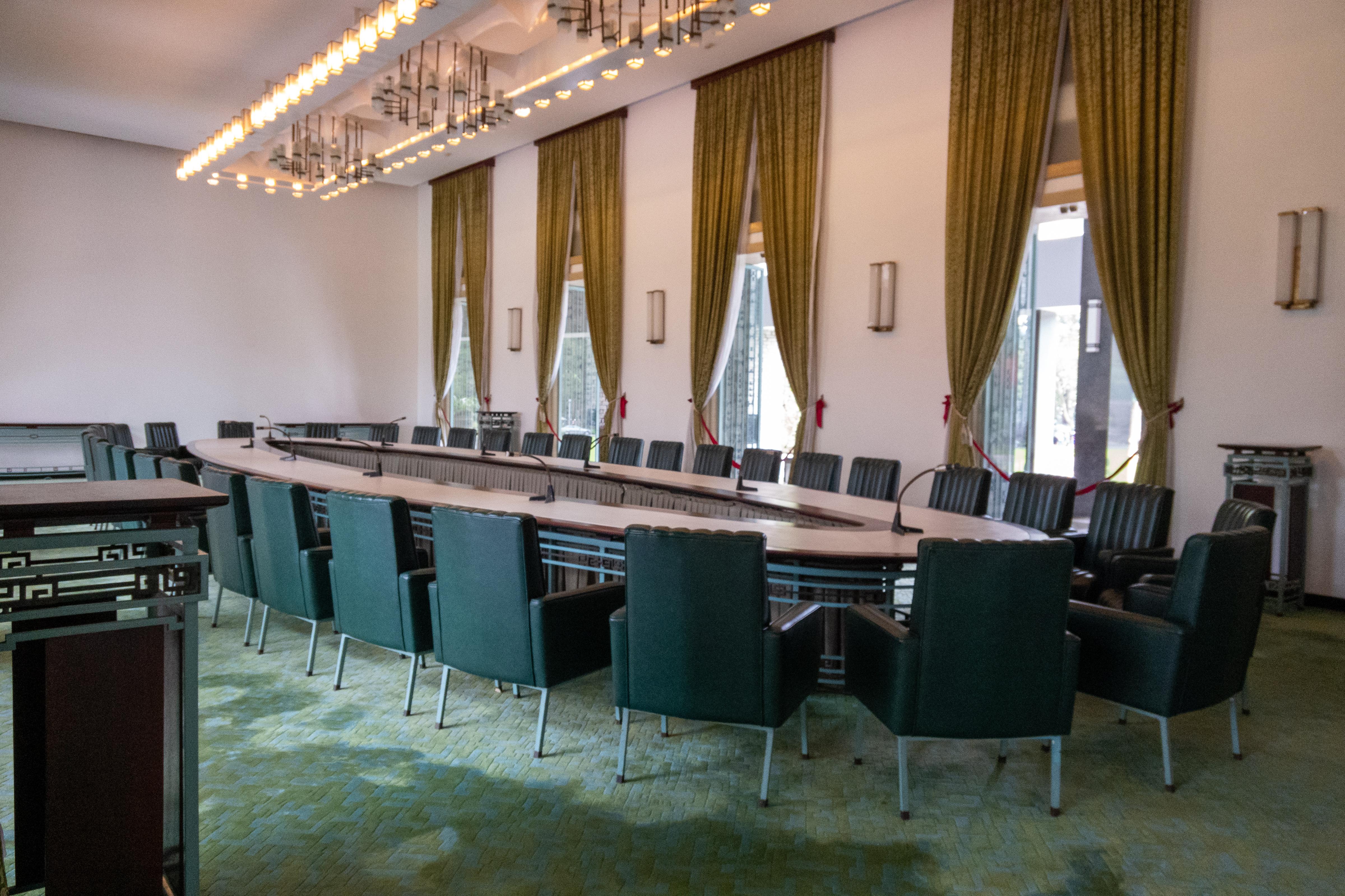 内閣会議室だそう