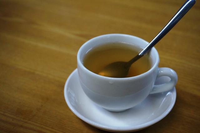 お茶を頂きました