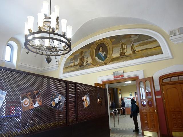 Vladivostok station cafeteria