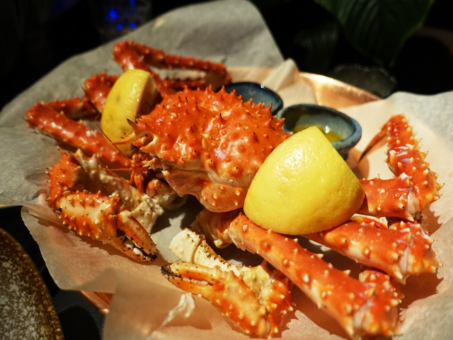 crab for $60 in zuma, Vladivostok