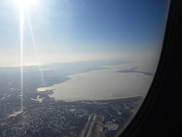 ウラジオストクの上空 Vladivostok from sky