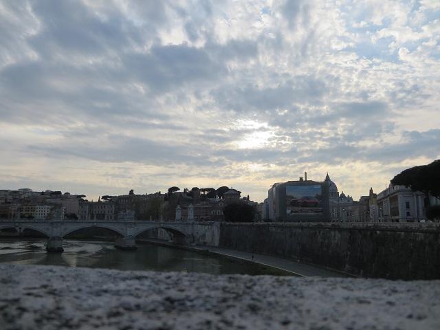 サンタンジェロ城からの風景