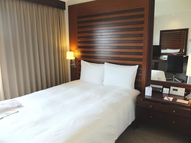 ANAクラウンプラザ岡山のベッド