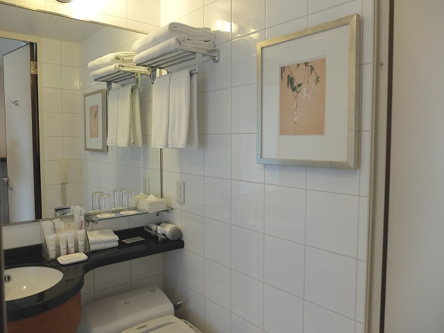 ANAクラウンプラザ岡山のバスルーム