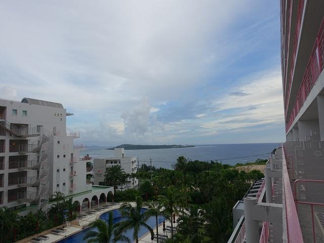 ホテルマハイナのへやからの眺め