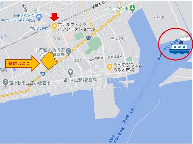 地図はGoogle Mapより出典