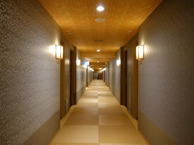 """Tatami floor in """"Nono"""" hotel in Toyama"""