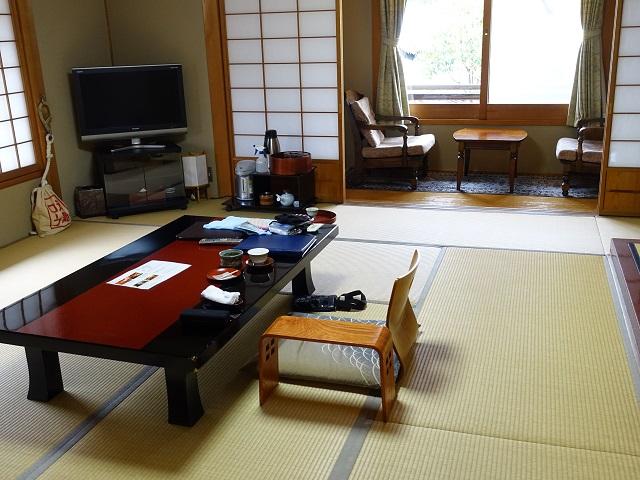 広々とした和室が落ち着きます