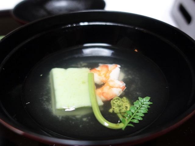 田乃倉の夕食のお吸い物