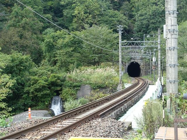土合駅のトンネル