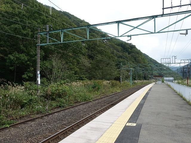 土合駅の上りホーム